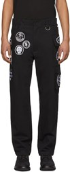 Ktz Black Scout Patches Military Trousers