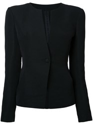 Gareth Pugh Oversized Shoulders Jacket Black