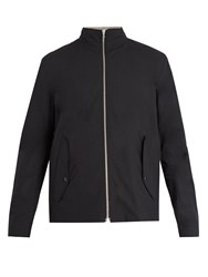 Rag And Bone Harrington Reversible High Neck Jacket Black Multi