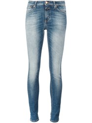 Closed Super Skinny Cropped Jeans Blue