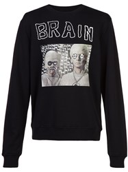 Haculla Hac On The Brain Sweatshirt Black
