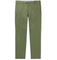 Polo Ralph Lauren Hudson Slim Fit Stretch Cotton Twill Chinos Green