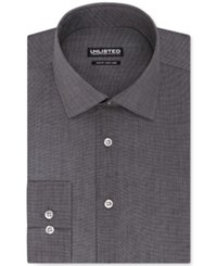 Unlisted By Kenneth Cole Hairline Stripe Slim Fit Dress Shirt Grey