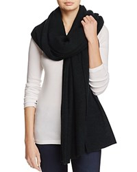 Bloomingdale's C By Cashmere Wrap 100 Exclusive Marled Evergreen