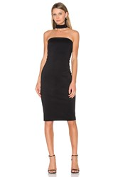Amanda Uprichard Kimora Dress Black