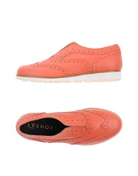 L'f Shoes Loafers Salmon Pink