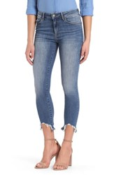 Mavi Jeans Tess Ripped Skinny Crop Shaded Destructed Vintage