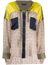 Barbara Bui Patterned Blouse Neutrals