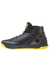 Under Armour Curry Basketball Shoes Black Taxi