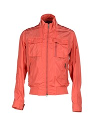 Hetrego' Coats And Jackets Jackets Men Coral