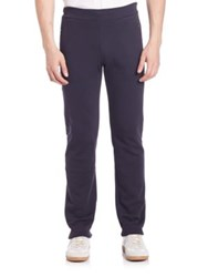 Z Zegna French Terry Sweatpants Navy