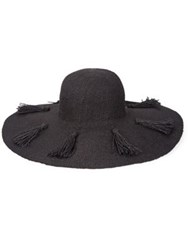 L Space Beach Weekend Hat Natural Black