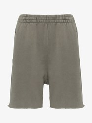 Yeezy Elasticated Waist Cotton Sweat Shorts Grey
