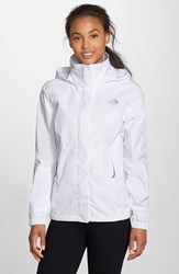 The North Face Women's 'Resolve' Waterproof Jacket Tnf White