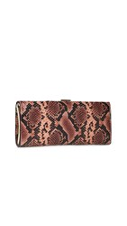 Frances Valentine Eleni Clutch Natural Pink