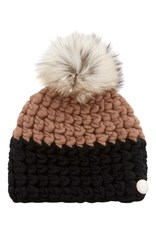 Mischa Lampert Deep Knit Beanie Brown