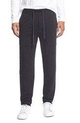 Men's James Perse 'Nanergy' Vintage Track Pant Black