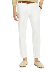 Polo Ralph Lauren Classic Fit Linen Blend Chinos White