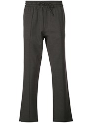 Second Layer Drawstring Trousers Grey