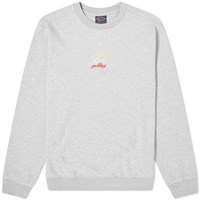 Paul And Shark Chest Logo Crew Sweat Grey