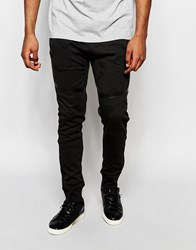 Eclipse Jogger Knee Detail Black