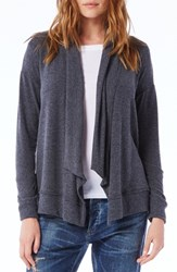 Michael Stars Women's Open Front Cardigan Charcoal