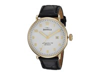 Shinola Detroit The Canfield 43Mm 20001938 White Black Semi Matte Watches White Black Semi Matte
