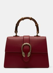 Gucci Dionysus Bamboo Handle Handbag Red