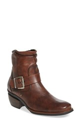 Wolky Women's 'Koppen' Bootie Cognac Mighty Greased Leather