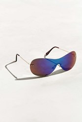 Urban Outfitters A 80S Sport Runner Sunglasses Black