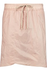 Rick Owens Shell Shorts Blush