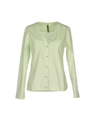Manila Grace Shirts Light Green