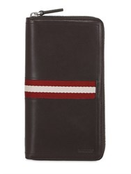 Bally Talen Leather Zip Around Wallet