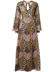 The Upside Mixed Floral Print Wrap Dress 60
