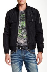 Affliction Courageous Bomber Jacket Black