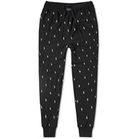 Polo Ralph Lauren Sleepwear Sweat Pant Black