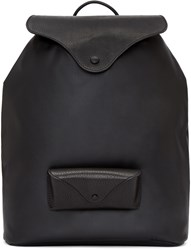 Maison Martin Margiela Black Glasses Case Backpack