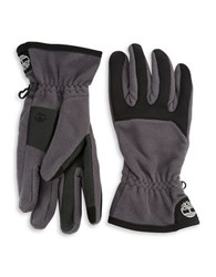 Timberland Mid Weight Commuter Gloves Charcoal