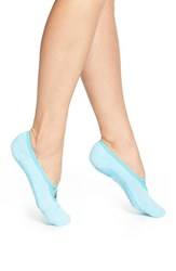 Women's Zella 'Studio' Ballet Socks Blue Blink