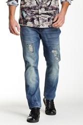 Marc Ecko Vintique Repair Jean Blue