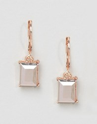 Aldo Drop Earrings Rose Gold