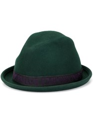 Emporio Armani Turned Up Brim Hat Green