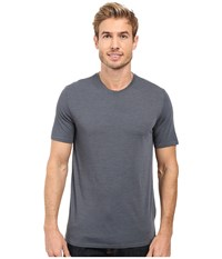 Royal Robbins Go Everywhere Tee Slate Men's T Shirt Metallic