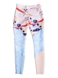 Roxy Pop Surf Leggings Multi Coloured Multi Coloured