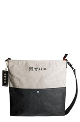 Sherpani Aiko Colorblock Shoulder Bag Ivory Stone