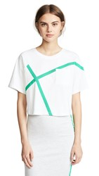 Evidnt Boxy Tee White