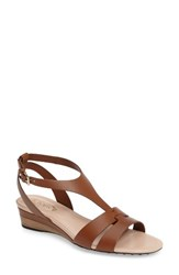 Tod's Women's Double Band Wedge Sandal