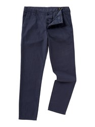 Label Lab Men's Sage Chino Trousers Navy