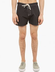 Saturdays Surf Nyc Black Contrast Seam Shorts
