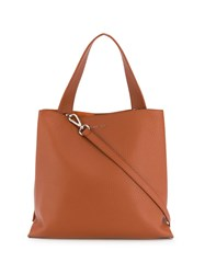 Orciani Soft Tote Bag Brown